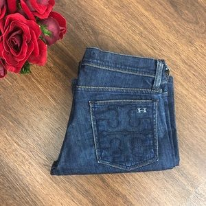 Habitual For Tory Burch Bootcut Jeans in Darkness